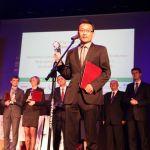 """Tytuł najlepszego studenta zagranicznego w Polsce w kategorii """"studia doktoranckie"""" otrzymał mgr inż. Kun Zheng."""